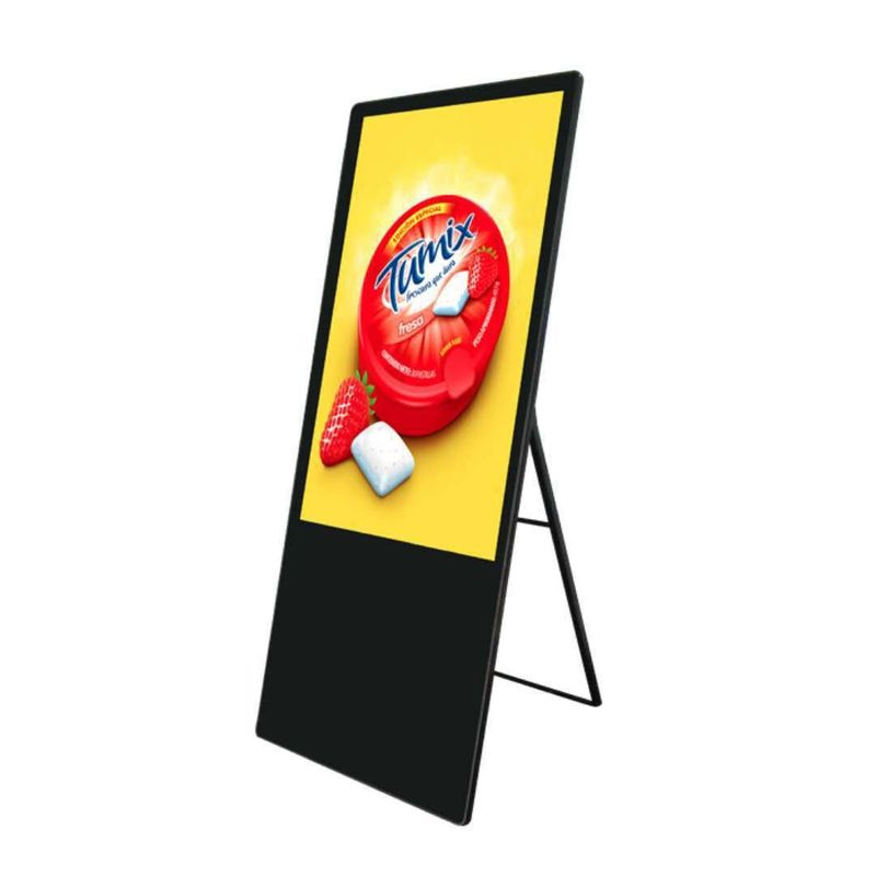 Floor type 43 inch FHD digital signage for all kinds of shops