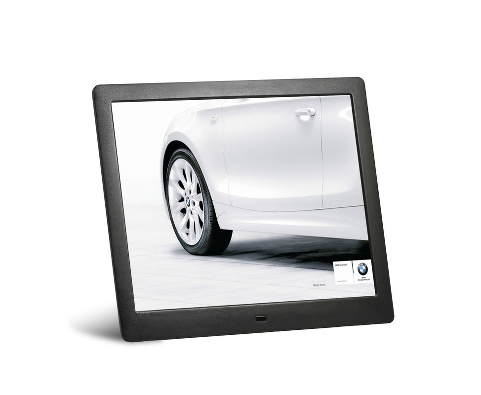 Decorative 10 Inch Motion Sensor Digital Photo Frame LCD AD Player With Key - Press Control
