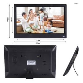 DC Power Input Touch Screen กรอบรูปดิจิตอล 12.5 '' IPS HD Android Touch Screen